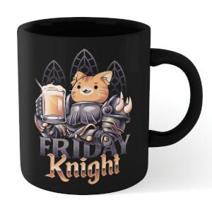 Ilustrata Friday Knight Mug - Black