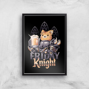 Ilustrata Friday Knight Giclee Art Print