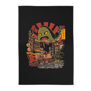 Ilustrata Avokiller Cotton Tea Towel - Black