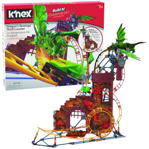 Knex Dragon Revent Thrill Coaster Ride Building Set
