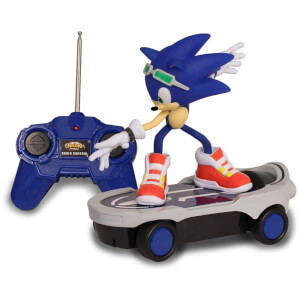 Sonic the Hedgehog Free Rider Remote Control Skateboard