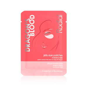 Rodial Dragon's Blood Jelly Eye Patches - Single Sachet