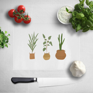 Plants Chopping Board
