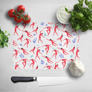 Dancing Silhouettes Chopping Board