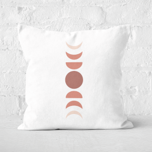 Moon Cycle Square Cushion