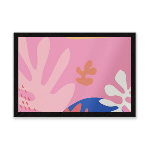 Colourful Abstract Entrance Mat