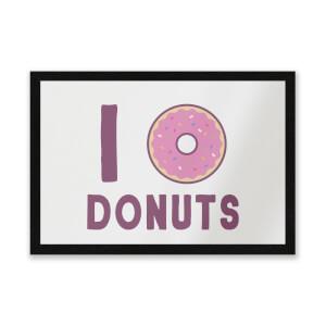 I Heart Donuts Entrance Mat