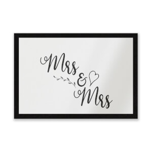Mrs & Mrs Entrance Mat