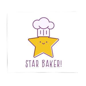 Star Baker Fleece Blanket
