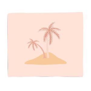 Dessert Island Fleece Blanket