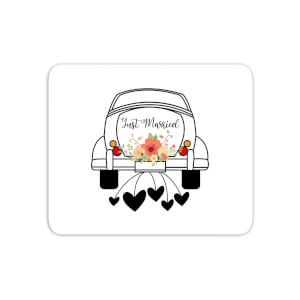 Just Married Car Mouse Mat