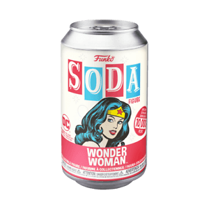 DC Comics Wonder Woman Vinyl Soda Figure in Collector Can