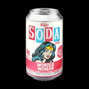 DC Comics Wonder Woman Vinyl Soda Figure in Collector Can