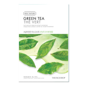 THE FACE SHOP Real Nature Sheet Mask Green Tea