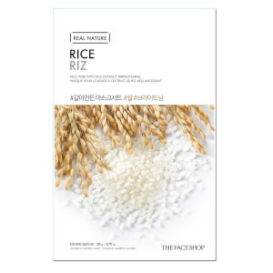 THE FACE SHOP Real Nature Sheet Mask Rice