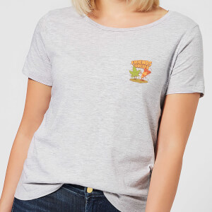 Ilustrata Forever Friends Women's T-Shirt - Grey