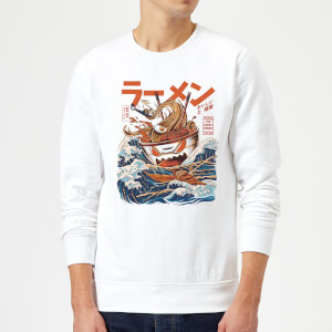 Ilustrata The Great Ramen Off Sweatshirt - White