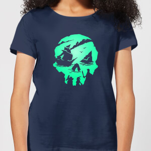 Sea Of Thieves 2nd Anniversary Skull Women's T-Shirt - Navy