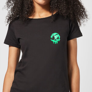 Sea Of Thieves 2nd Anniversary Pocket Print Women's T-Shirt - Black