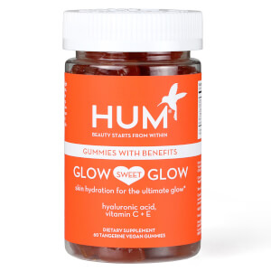 HUM Nutrition Glow Sweet Glow Radiant Skin Supplement (60 Vegan Gummies, 30 Days)