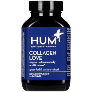 HUM Nutrition Collagen Love Skin Elasticity Supplement (90 Capsules, 30 Days)