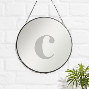 C Engraved Mirror