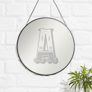 Circus A Engraved Mirror