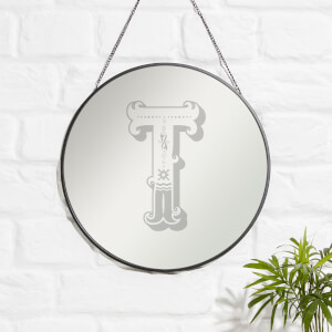Circus T Engraved Mirror