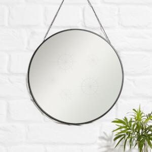 Stars Engraved Mirror