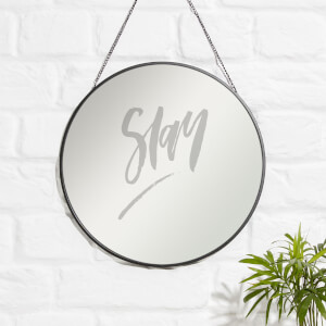Slay Engraved Mirror