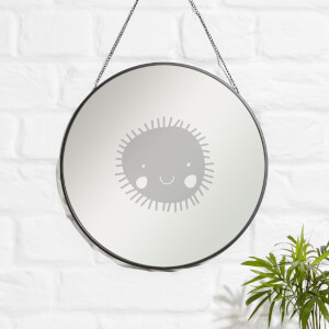 SUN Engraved Mirror