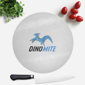 Dino Mite Round Chopping Board