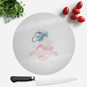 Mermaid Vibes Round Chopping Board