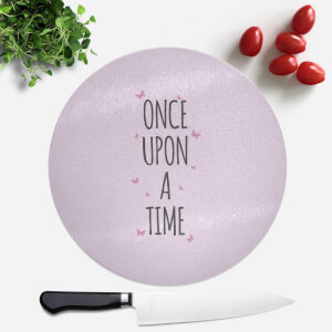 Once Upon A Time Round Chopping Board