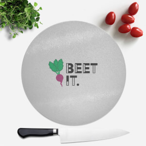 Beet It Round Chopping Board
