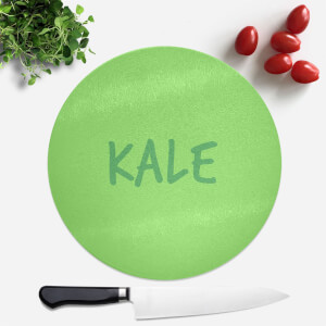 Kale Round Chopping Board