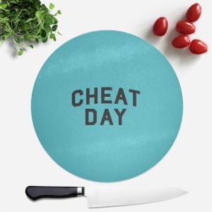 Cheat Day Round Chopping Board