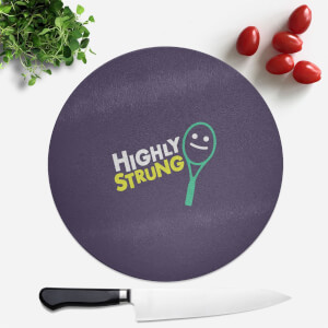 Highly Strung Round Chopping Board