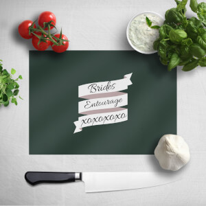 Brides Entourage Chopping Board