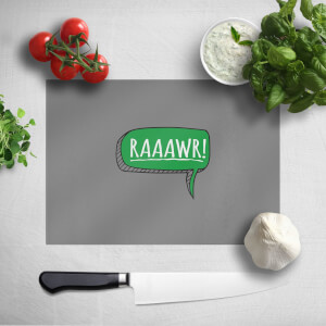 Raaawr Chopping Board