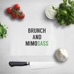 Brunch And Mimosass Chopping Board
