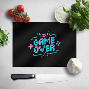 Game Over Gaming Chopping Board