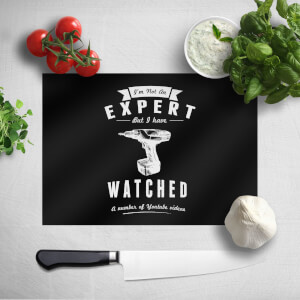 Im Not An Expert Chopping Board