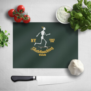 Skateboarding Team Chopping Board