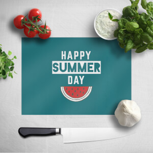 Happy SUmmer Day Chopping Board