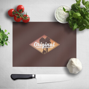 Original Palm Trees Chopping Board