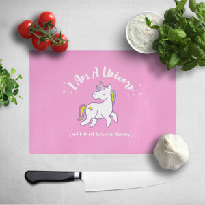 I Am A Unicorn Chopping Board