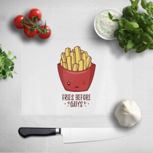 Fries Before Guys Chopping Board