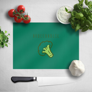 Broccoholic Chopping Board