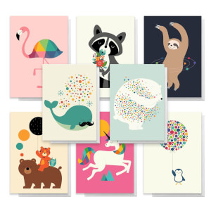 Designs By Andy Westface Pack Of Greetings Cards